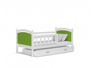Tami P detská posteľ biela zelená