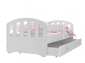 HAPPY detská posteľ sivá laredo