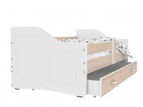Sweety detská posteľ biela laredo