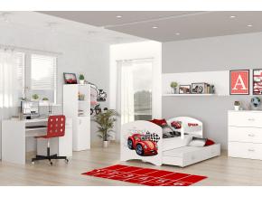 lucky P2 detská posteľ auto 01L