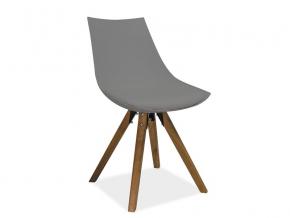 moderna siva jedalenska stolicka LENOX siva