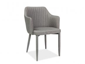 moderna siva jedalenska stolicka WELTON siva
