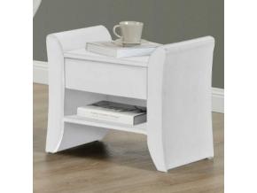 bolton nočný stolík biela