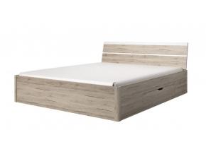moderna manzelska postel so zasuvkou DELTA