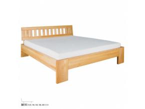 Manželská posteľ - masív LK193 | 180 cm buk