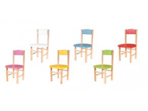 detske drevene stoly a stolicky AD251