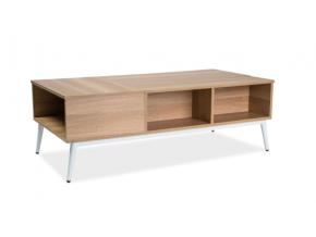 moderny hnedy konferencny stolik ARRAS