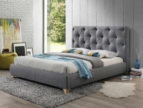 moderna siva calunena manzelska postel BUGATTI 160 x 200