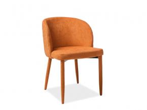moderna jedalenska stolicka CARLOS oranzova latka