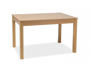 Rozkladací jedálenský stôl PRISM dub