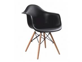 damen stolička čierna