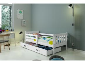 detská posteľ Carino grafit