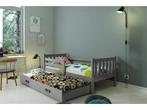 detská posteľ Carino s prístelkou
