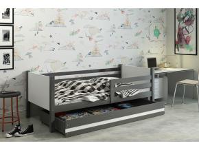 detská posteľ Clir grafit