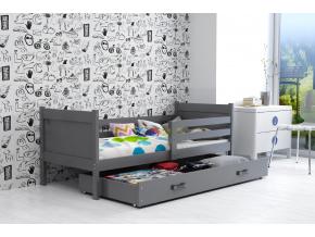 Detská posteľ Rino 80 x 190 grafit