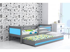 detská posteľ Rino modrá