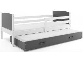 detská posteľ Tami biela fialová