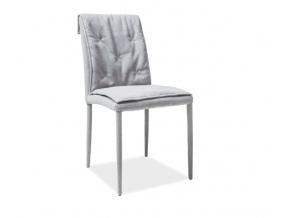 moderna jedalenska stolicka NIDO siva
