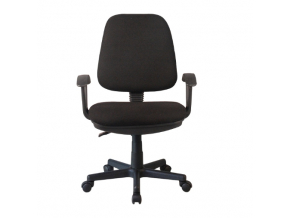 colby kancelárska stolička čierna