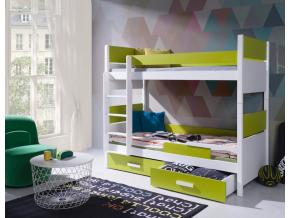 Detská poschodová posteľ Lazaro