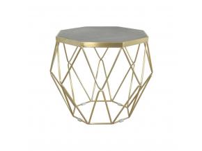 luxusny ocelovy konferencny stolik GLAMOUR GL1715