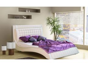 prakticka moderna biela manzelska postel KLLER biela ekokoza madryt 120