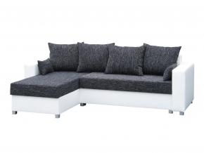 moderna sivo biela rohova sedacia suprava PALOMA