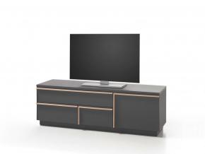 moderny sivy TV stolik MASSIMMO BRINDISI RTV1D3S 5 14