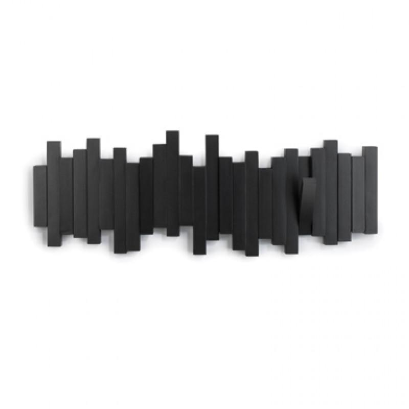 ArtKwa Vešiak Sticks Multi Farba: Čierna