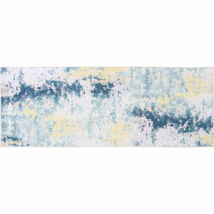 Tempo Kondela Koberec, sivá/žltá, 80x200, MARION TYP 1