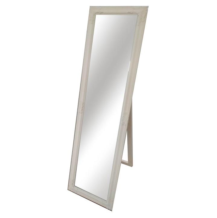 Tempo Kondela Zrkadlo, drevený rám smotanovej farby, MALKIA TYP 12