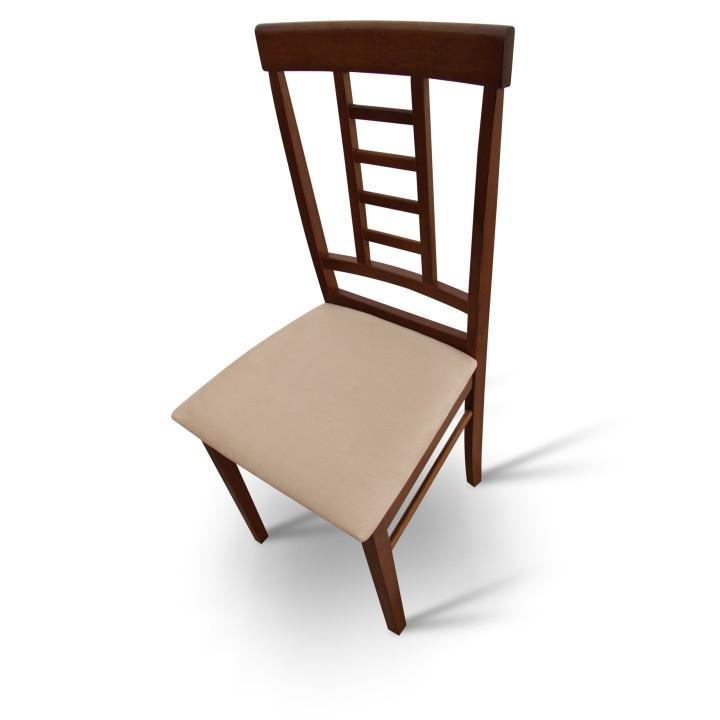 Tempo Kondela Jedálenská stolička, orech/béžová, OLEG NEW