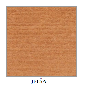 ArtElb Jedálenský set MAX 5 / NILO 1 (1+6) Farba: Jelša