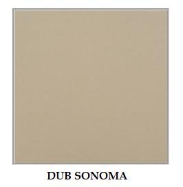 ArtElb Jedálenský set MODENA 2 / ROMA 5 (1+6) Farba: dub sonoma