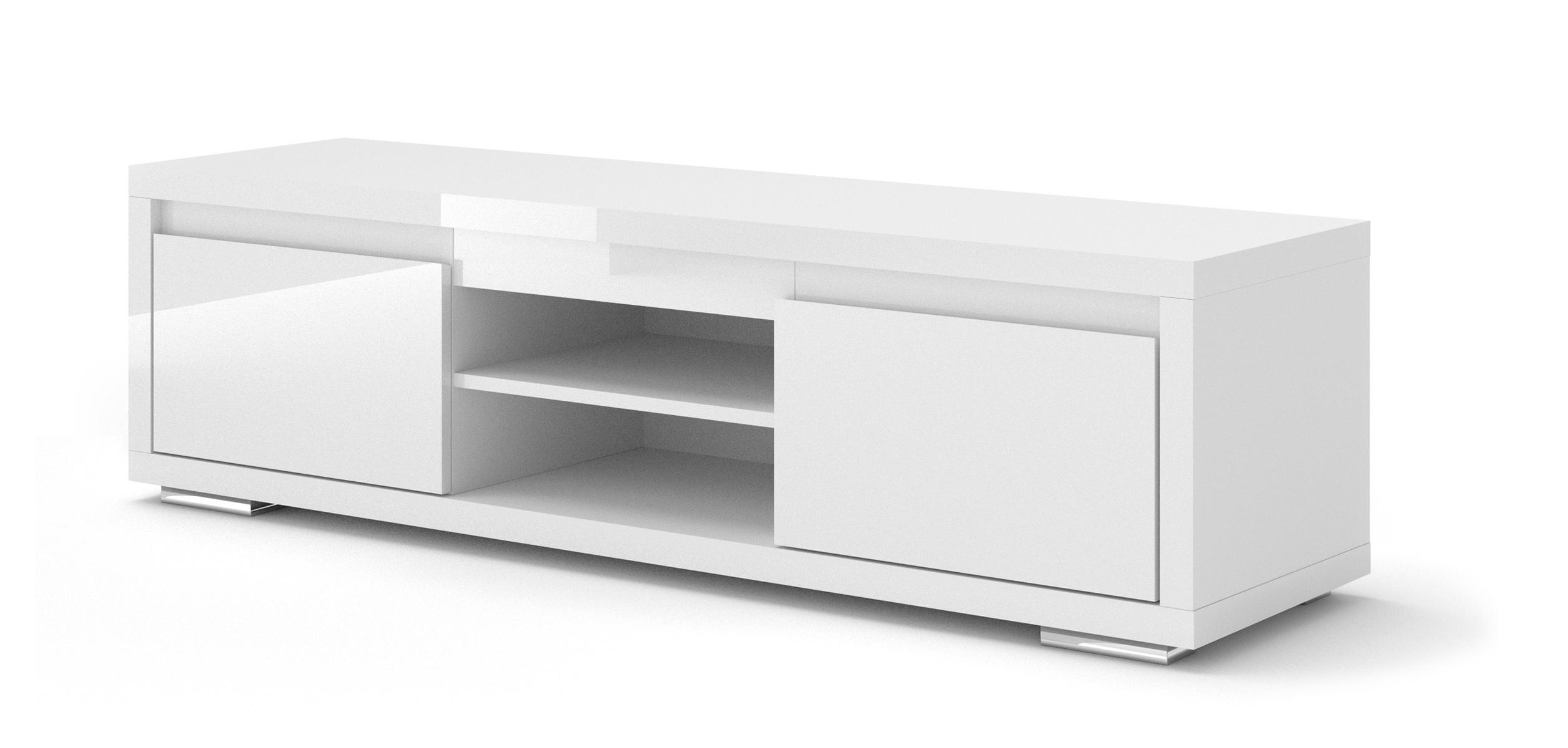 ARTBm TV stolík NORDIC BIANCO 03 Prevedenie: TV stolík NORDIC BIANCO 03 bez nožičiek
