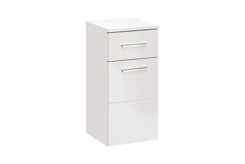 ArtCom Kúpeľňová zostava TWIST / BIELA Twist: skrinka nízka Twist 810: 30 x 62 x 30 cm
