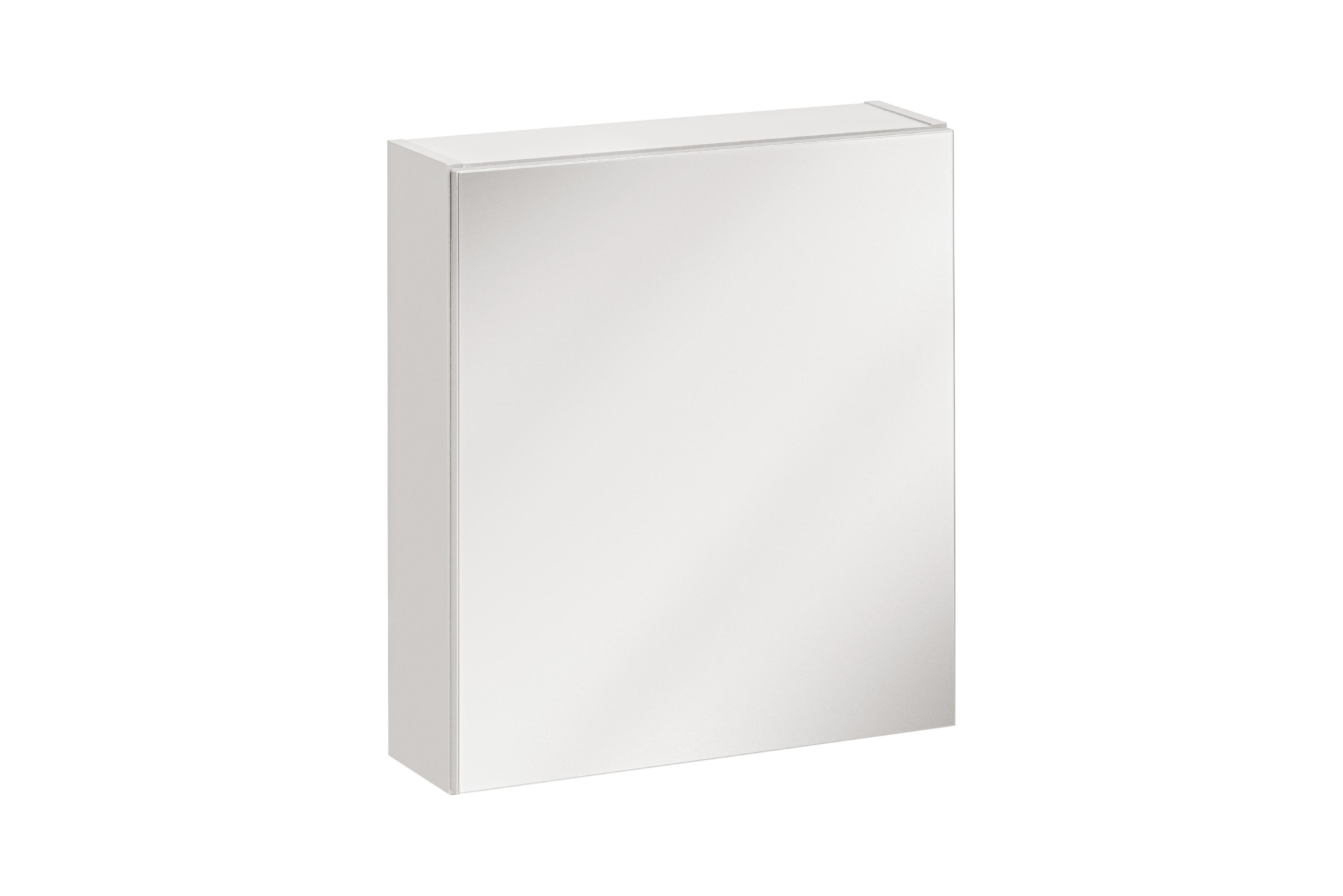 ArtCom Kúpeľňová zostava TWIST / BIELA Twist: zrkadlová skrinka Twist 840: 50 x 55 x 15 cm