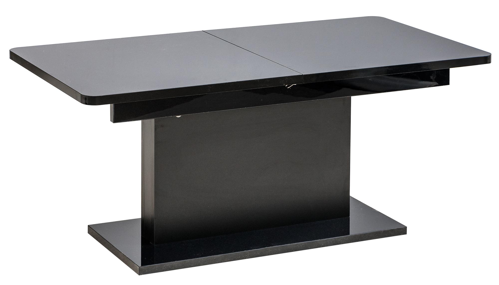 Dolmar Konferenčný / jedálenský stôl Opti Farba: Čierna