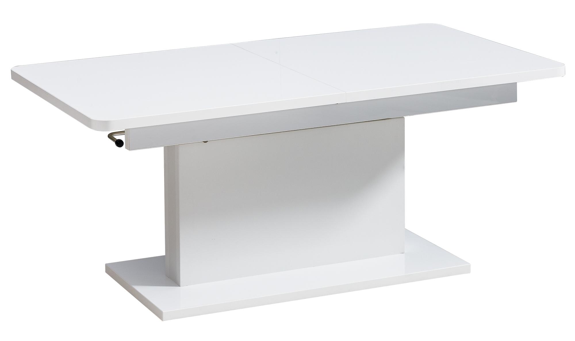 Dolmar Konferenčný / jedálenský stôl Opti Farba: Biela