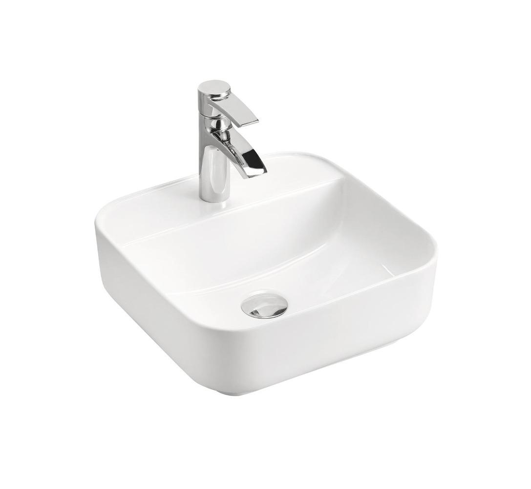 ArtCom Kúpeľňová zostava PLATINUM Platinum: keramické umývadlo CFP - 6288   39 x 39 x 14,5 cm