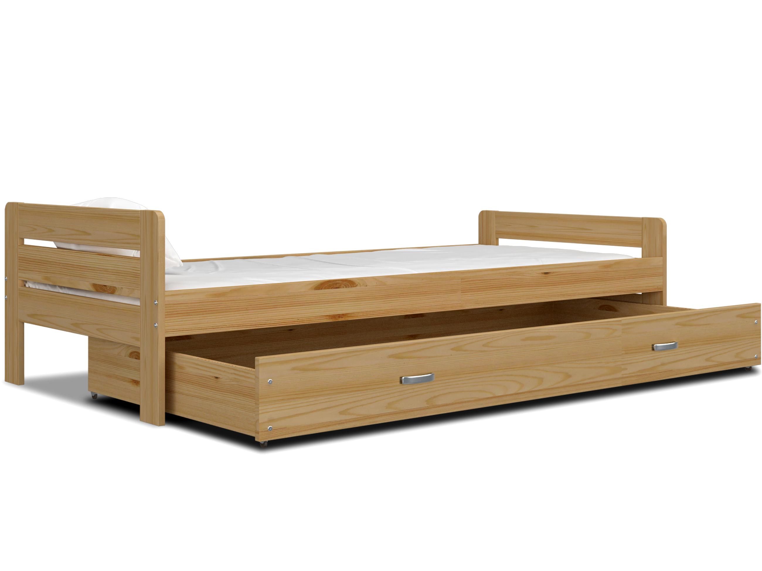 ArtAJ Detská posteľ BARTEK Farba: Borovica - drevo