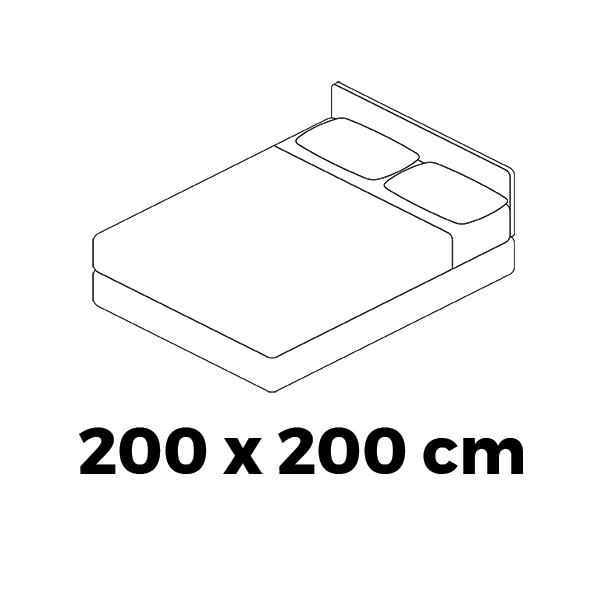 ArtAJ Matrac FAMILY MAX 3D - varianty Prevedenie: 200 x 200 cm