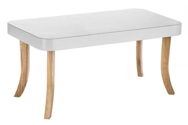 ArtSB Obdĺžnikový stolík Bunny Prevedenie: Stolík s hnedými 37 cm nohami