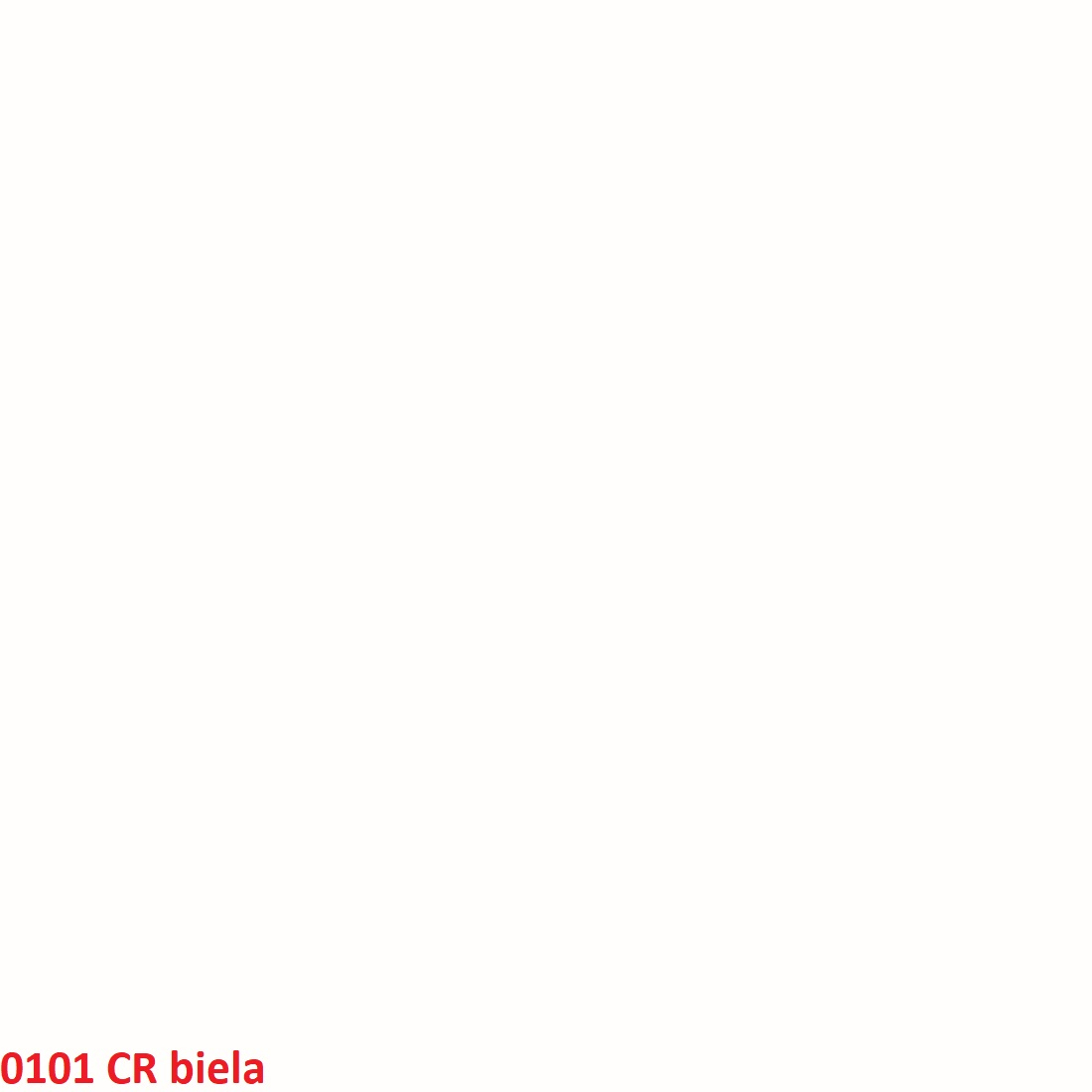 ArtExt Zástena za kuchynskú linku 38 mm: Biela CR 0101