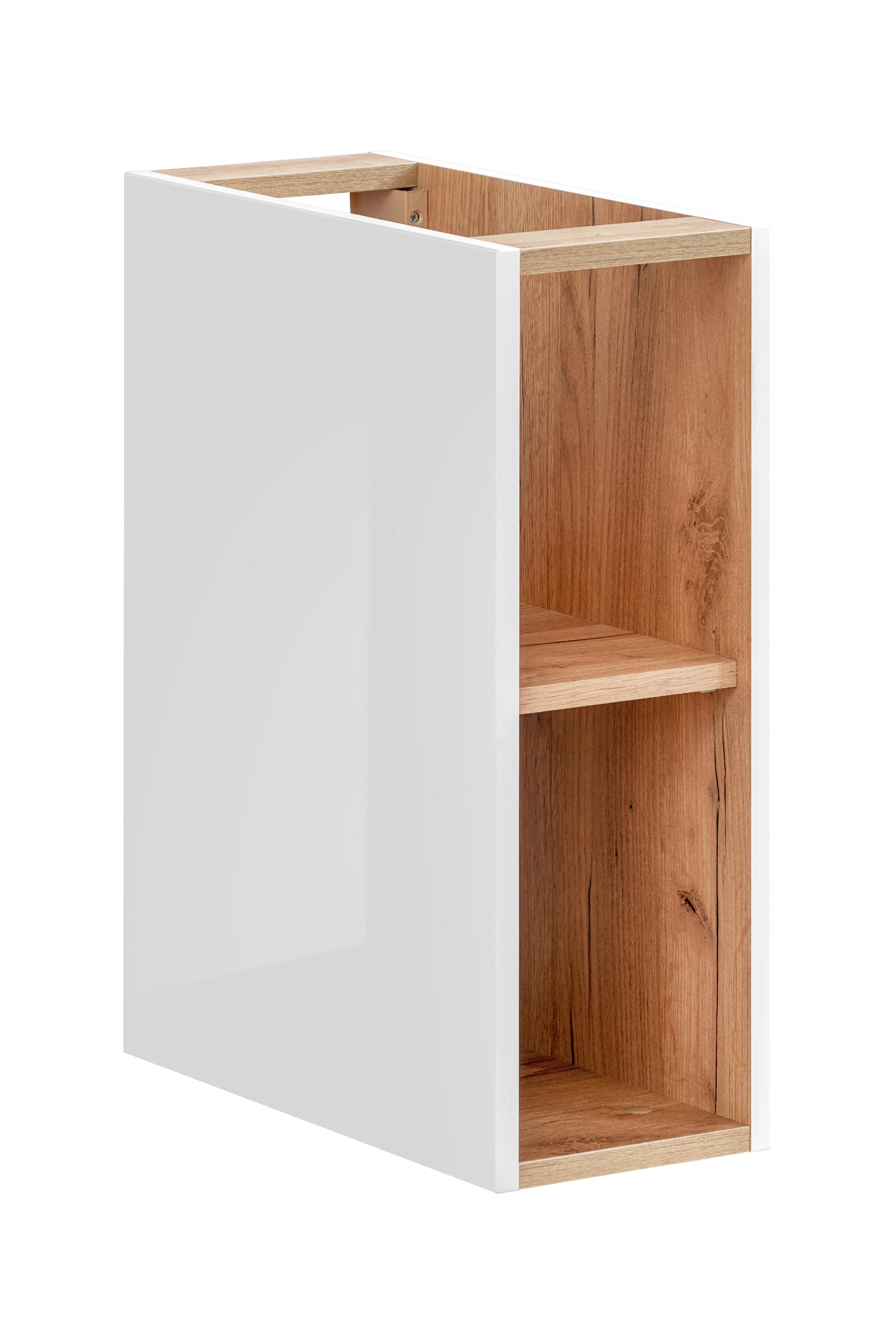 ArtCom Kúpeľňová zostava Capri   biela Capri   biela: Nízka spodná skrinka 810