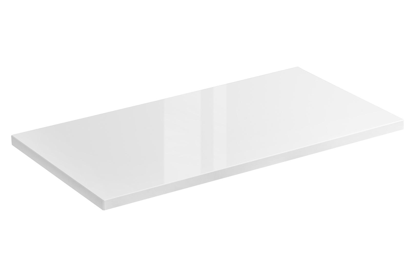 ArtCom Kúpeľňová zostava Capri   biela Capri   biela: Doska pod umývadlo 60 cm