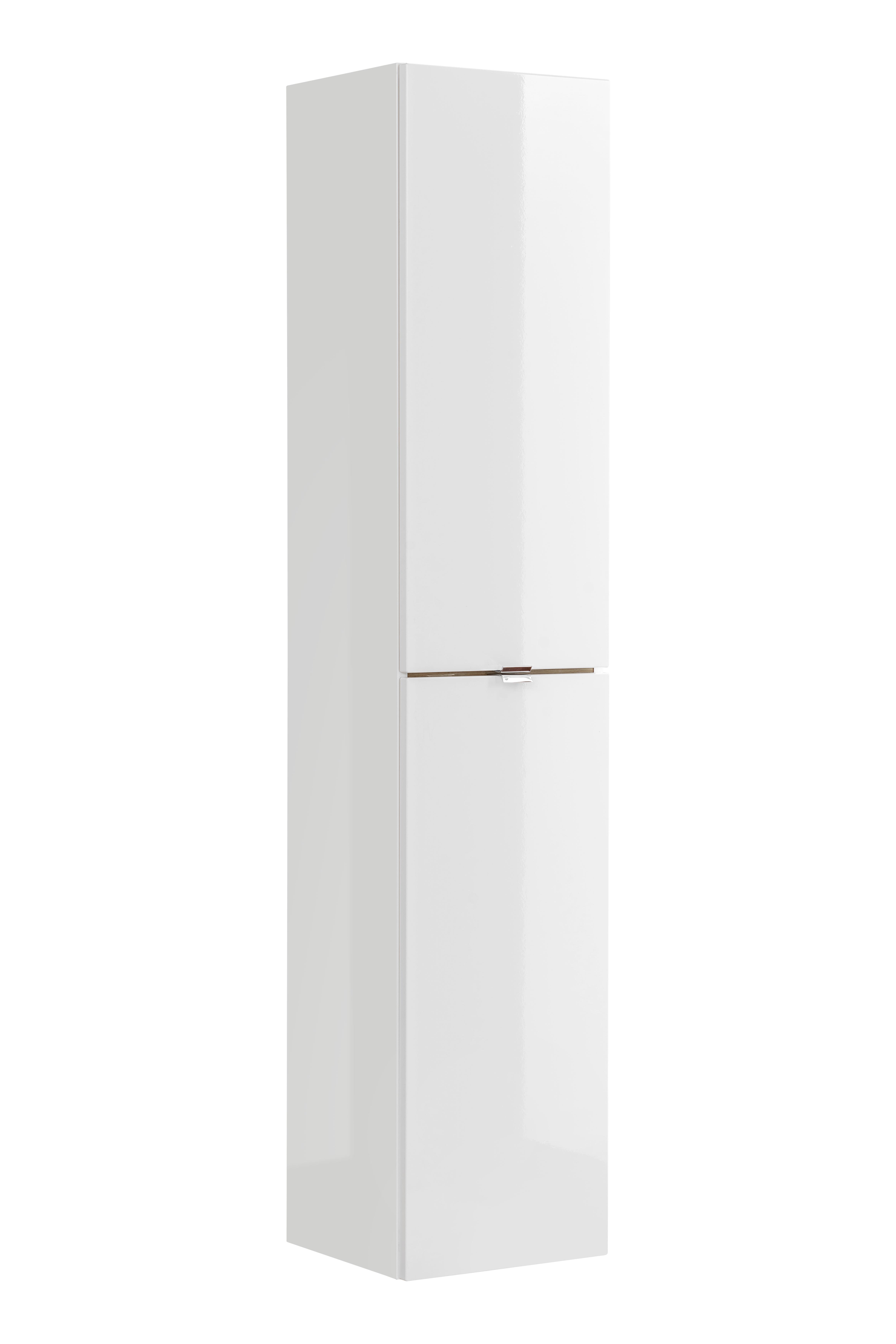 ArtCom Kúpeľňová zostava Capri   biela Capri   biela: Vysoká skrinka 800