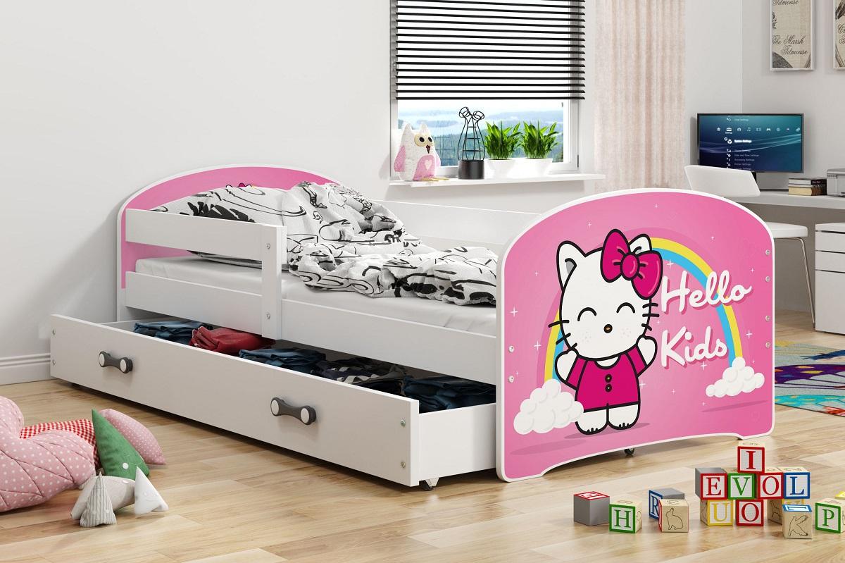 BMS Detská obrázková izba Luki / biela Obrázok: Hello Kids