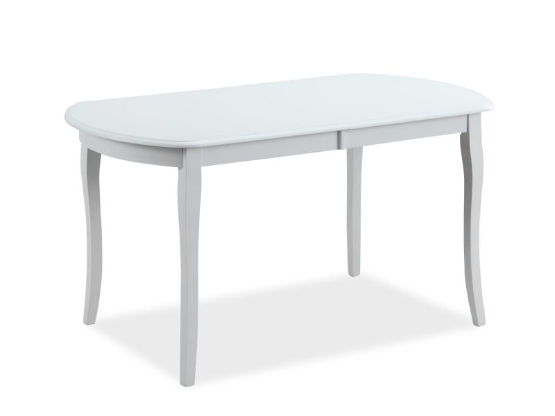 Signal Jedálenský stôl ALICANTE biely Prevedenie: 120 x 80 cm