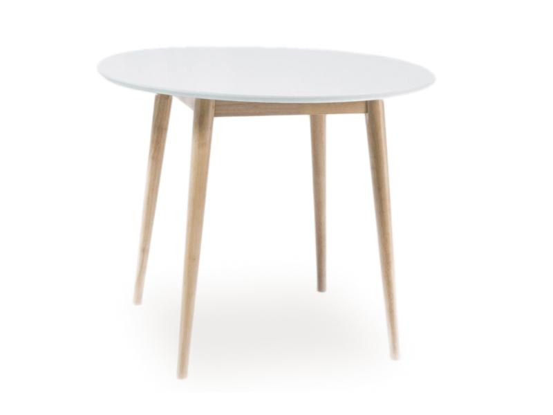 Signal Okrúhly jedálenský stôl LARSON 100cm